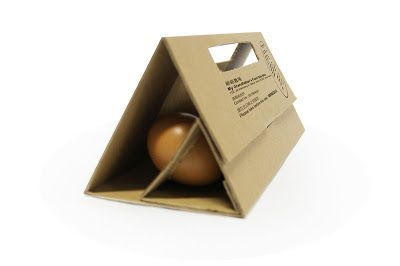 Chayqi's Gallery: Packaging Design- 6 Eggs Structure