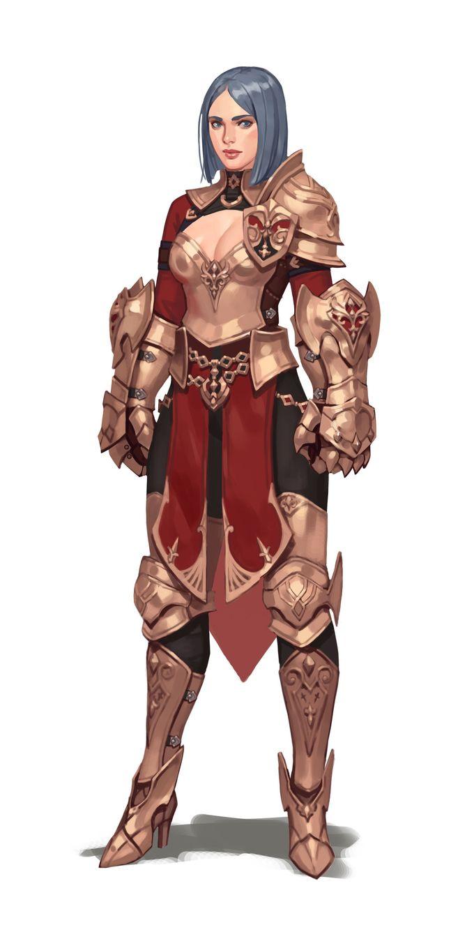 ArtStation - Bighand knight, Junq Jeon
