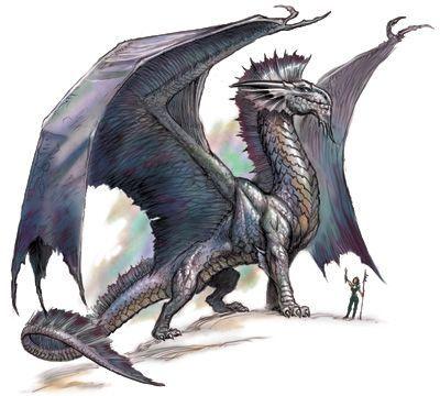 silver dragon d&d - Google Search