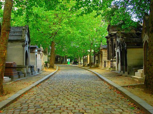 Pere Lachaise墓地的坟墓