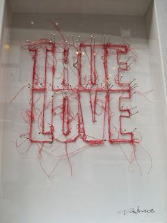 2D / 3D words: Manchester Craft and Design Centre - Gemini needs to believe in true love.