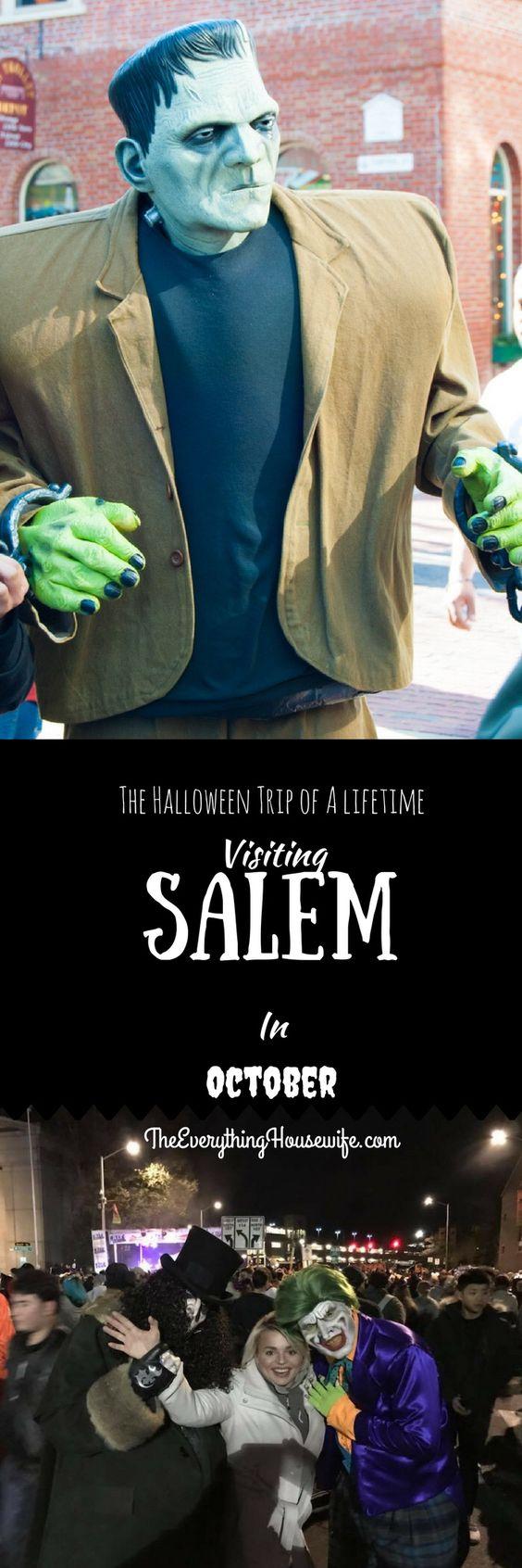 10月份访问塞勒姆去年10月,我丈夫和我一起去旅行团查了我们的清单......