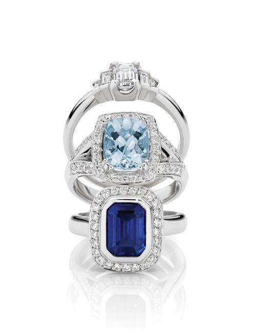 Larsen Jewellery的美丽#engagement戒指。
