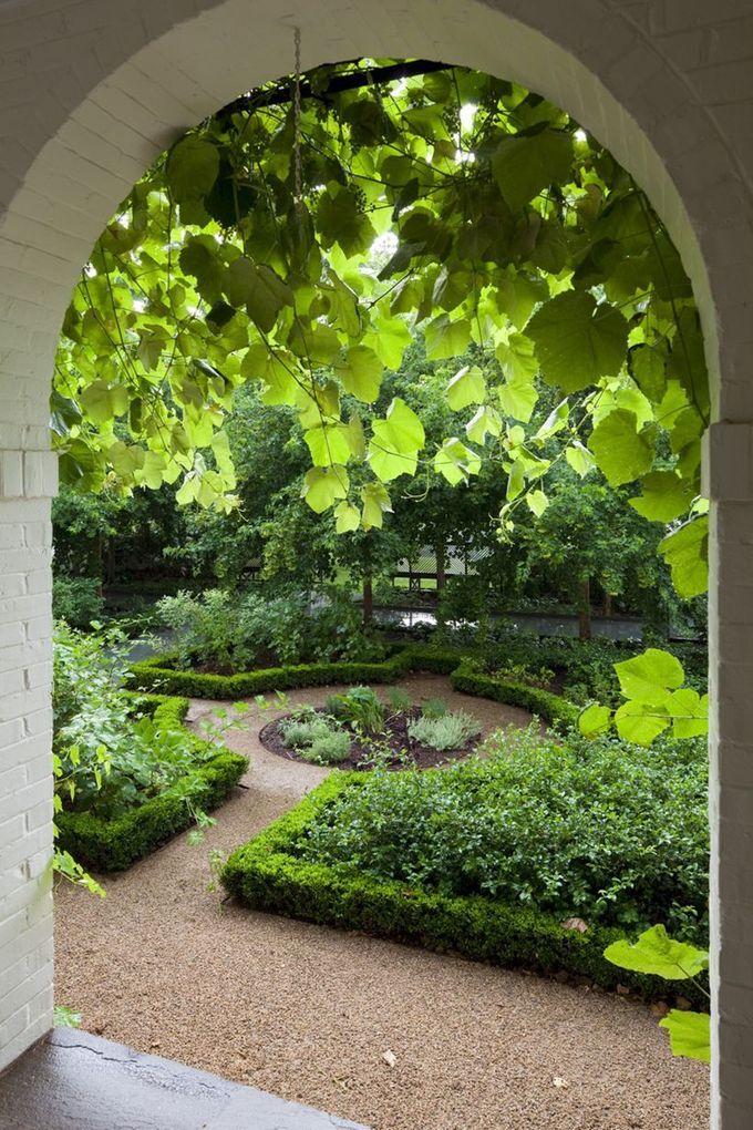 辉煌的花园小径和走道设计理念24
