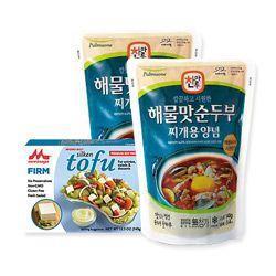 Pulmuone - Soft Tofu Stew Seafood no chemicals
