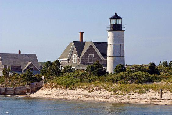 桑迪脖子灯塔在巴恩斯特布尔,鳕鱼角,马萨诸塞。有关更多信息,请参阅lighthouse.cc/sandyneck/ Image 429_2967adj