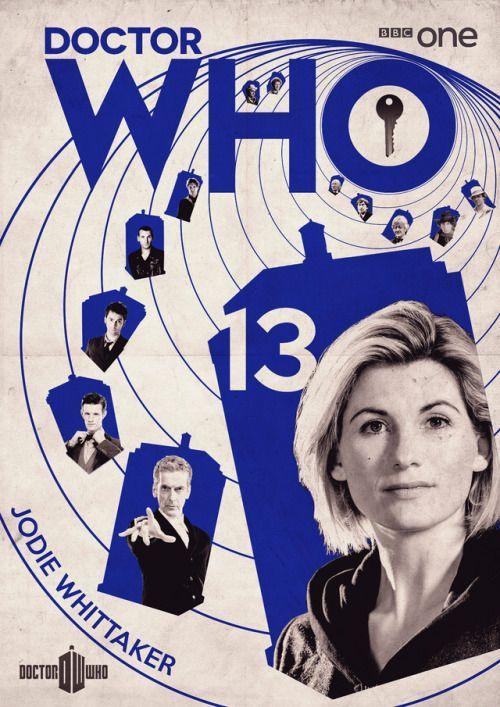 神秘博士:第13届医生海报 - 安迪艾文顿