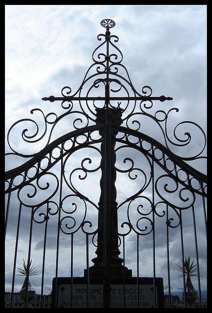 哥斯达黎加埃雷迪亚的公墓| 2008年6月
