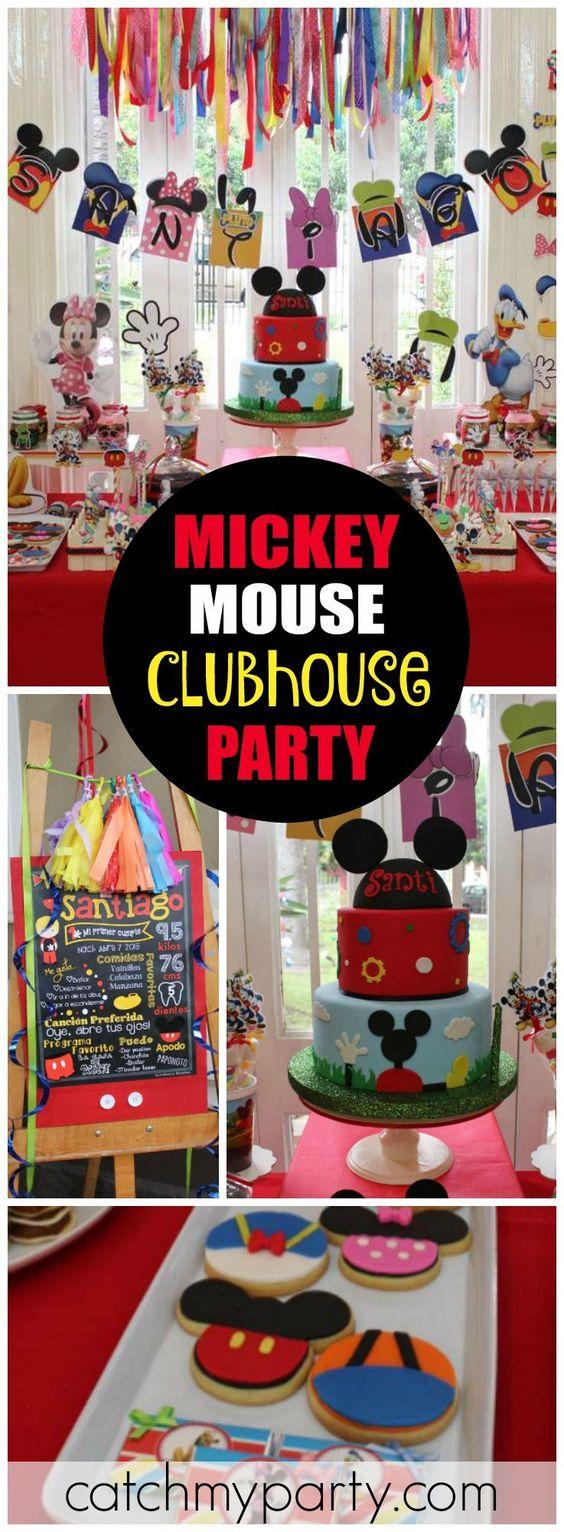 Violeta Glace的生日/米老鼠 -  Mickey和Catch My Party的朋友们