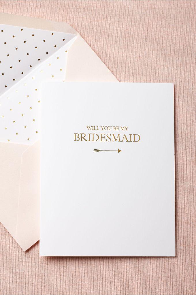 来自BHLDN的To-The-Heart Bridesmaid Card