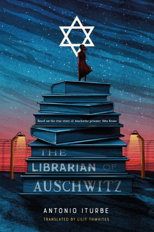 The librarian Auschwitz book cover #cover #booksdesign #illustration