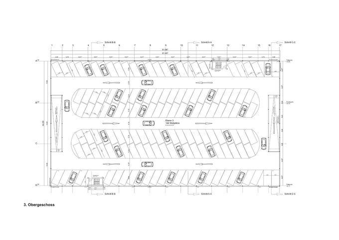 GaleríadeNeubau停车场SMA / HHS Planer + Architekten AG  -  7