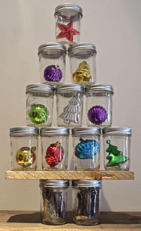 梅森罐子圣诞树! Junkmarket Style直到12月15日才开始进行泥瓦罐挑战。这不仅仅是一场胜负的挑战......