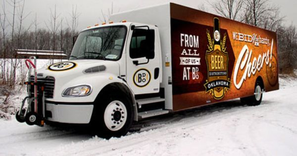 The Beer Distributors of Oklahoma Truck Wraps