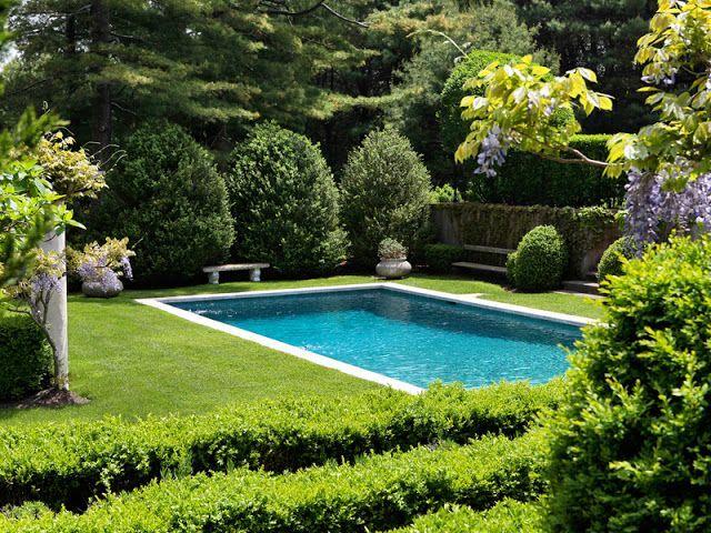 游泳池+草坪
