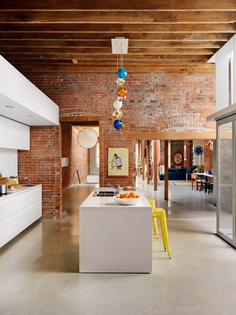 Apartments in the loft