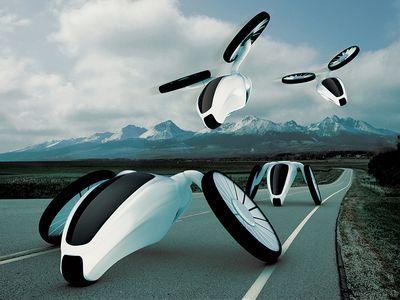 Hornet Transportation Futuristic Design..