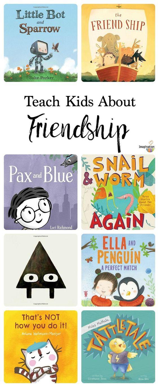 看到一批帮助塑造儿童友谊的图画书总是很可爱的。因为友谊就像任何其他的技能一样,一个重要的情商技能。关于友谊的书可以帮助你。