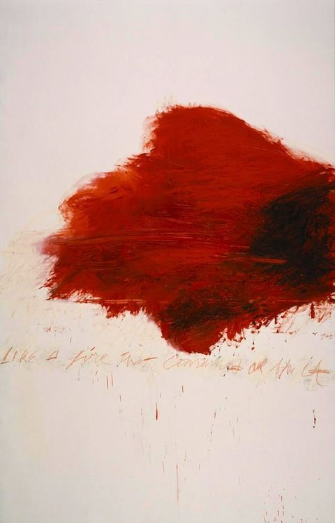 Cy Twombly - Look towards artworks for inspiration for your wedding day