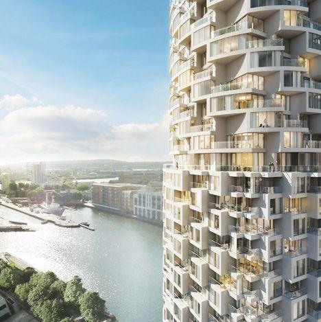 Herzog&de Meuron为伦敦东部设计摩天大楼