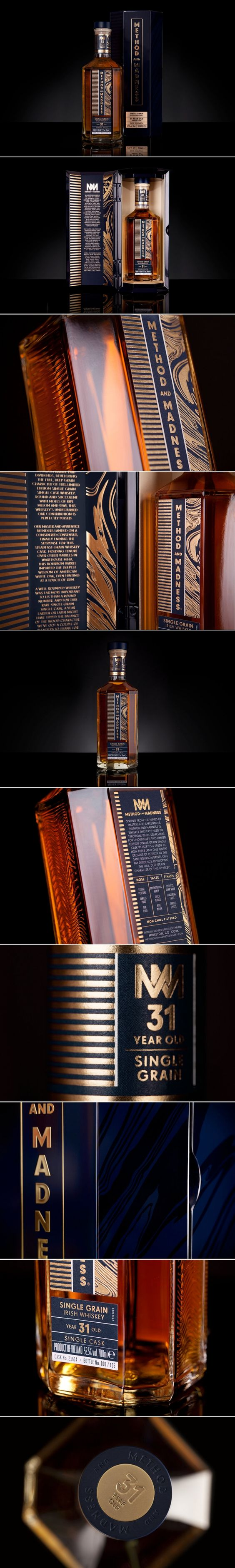 This Limited Edition Whiskey Packaging is Gorgeous