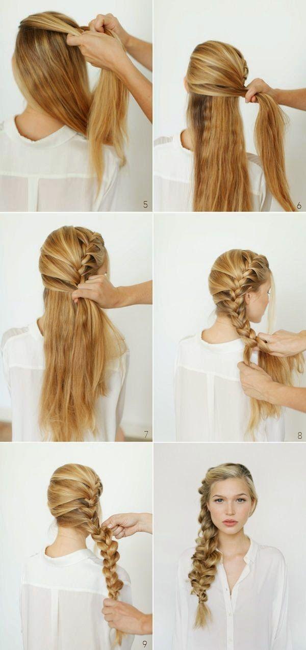 时尚与风格:十大美丽的编织发型教程