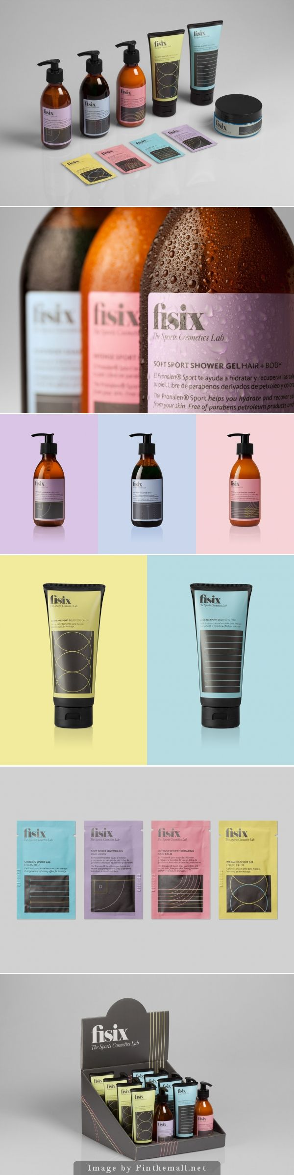 We are Mucho color #cosmetics #packaging #branding