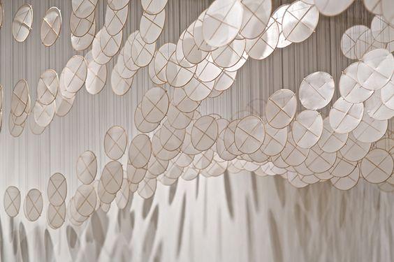 jacob hashimoto: gas giant kite installation