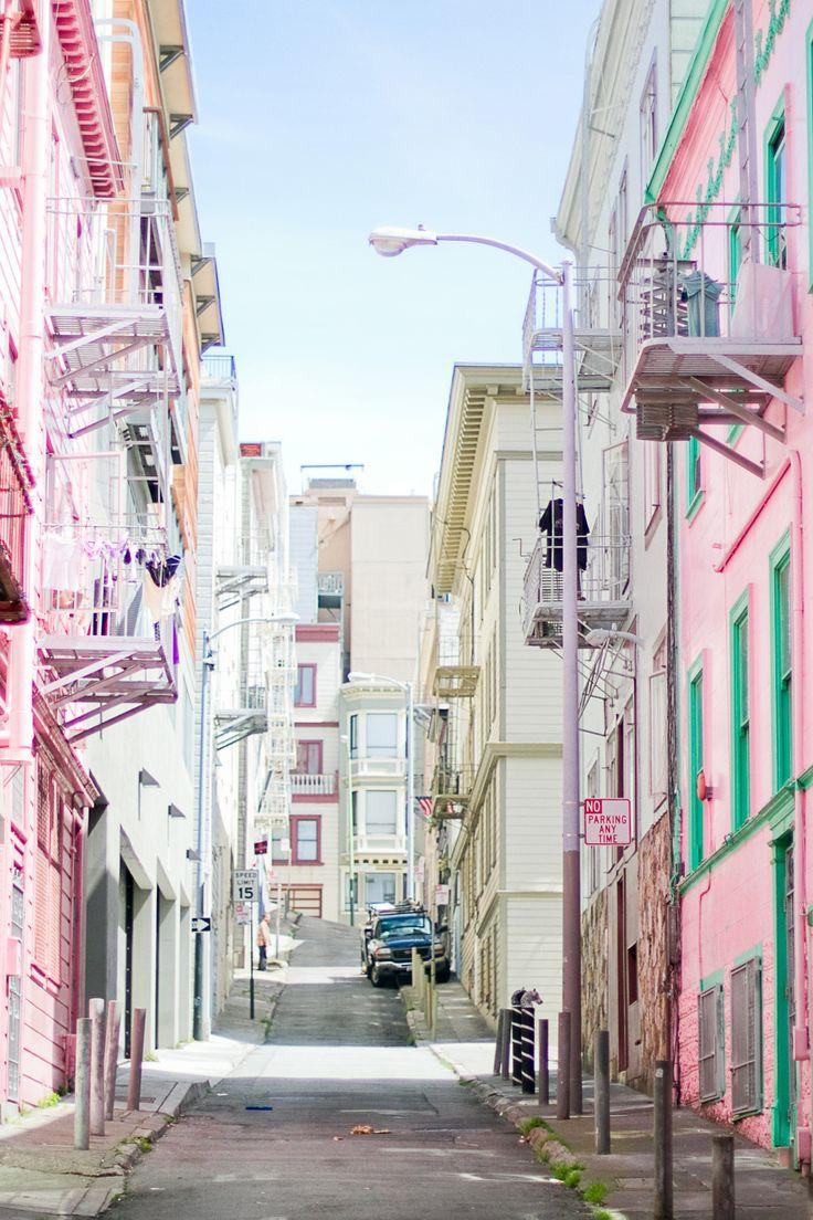 颜色|旧金山的街道