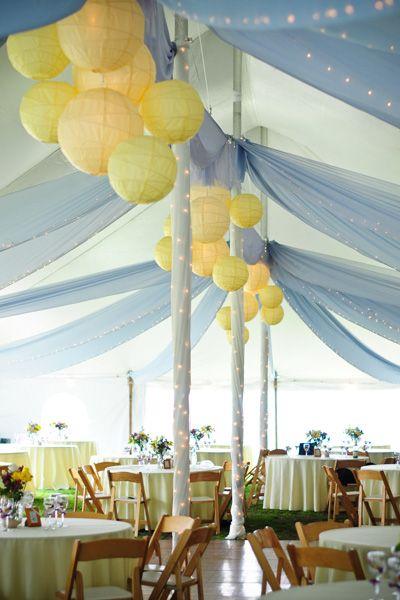 为黄色婚礼吸引大量灵感。