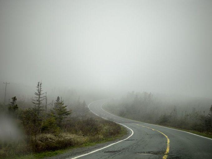 Visibility Near Zero - The New York Times