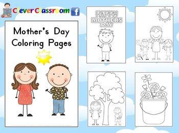 母亲节:免费母亲节着色页PDF文件10个可爱,大胆的图像供孩子们在这个母亲节上色。包括说明/想法页面和封面以及10张图片。使用这些着色页帮助孩子们庆祝母亲节。
