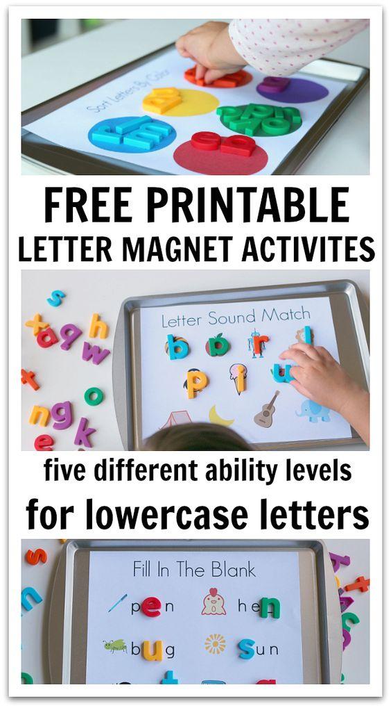 免费印刷与磁性字母一起使用。