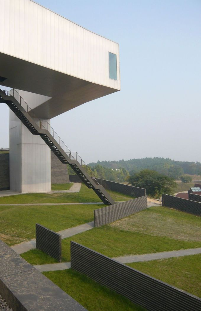 Nanjing Sifang Art Museum Steven Holl Architects