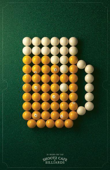 Shootz Café & Billiards: #Beer #Print #Ad