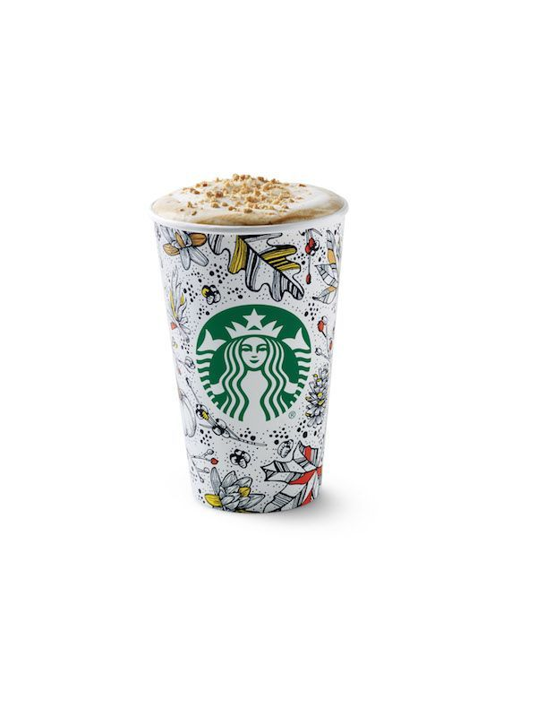 #starbucks #cup #coffee #packaging #handdrawn –– Starbucks