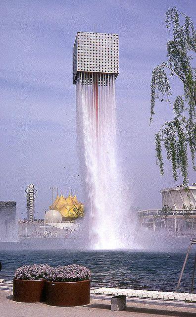 Isamu Noguchi的喷泉。图片来自petespix75 #Fountain