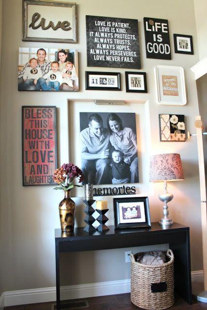 如果你需要帮助设计一个画廊墙,这里有一些华丽的灵感!