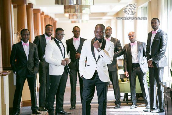 芝加哥地区的美国黑人婚礼,有很多尼日利亚传统和户外婚礼白松高尔夫球场,Bensenville IL