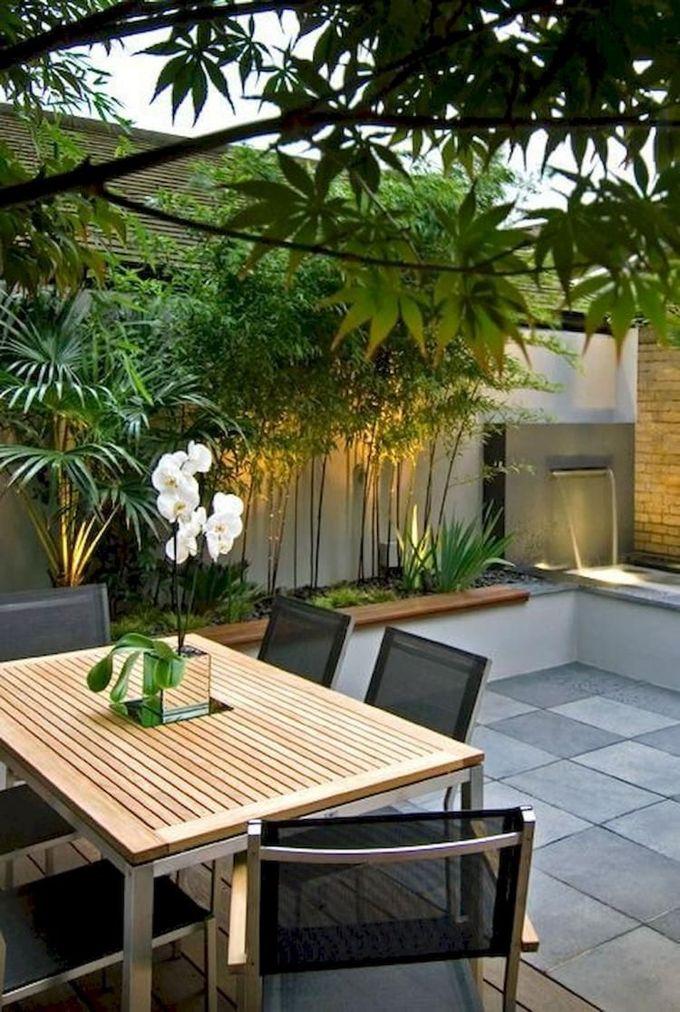 灵感的小院子庭院设计想法