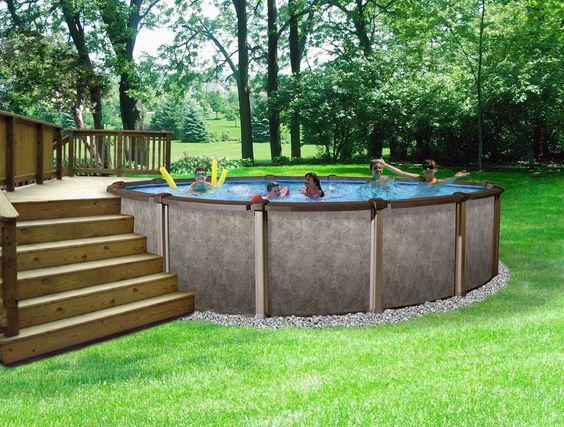 地上游泳池的想法 - 有一个游泳池很好吗?在你的后院有一个游泳池,你可以随时游泳,这是一个不错的主意。当你想到你不需要把所有需要的东西拿到最近的游泳池去[...]
