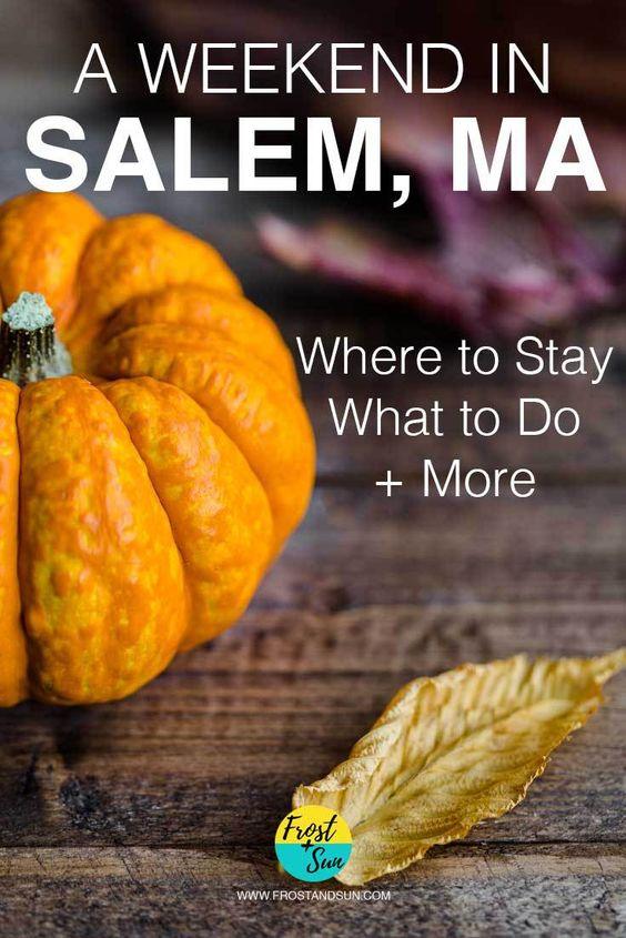 以萨利姆女巫审判而闻名的塞勒姆是我最喜欢的波士顿一日游。查看我在马萨诸塞州塞勒姆举办的10月周末行程。
