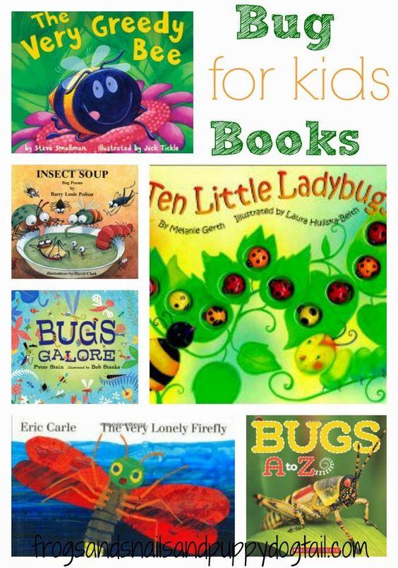 儿童书籍关于虫子
