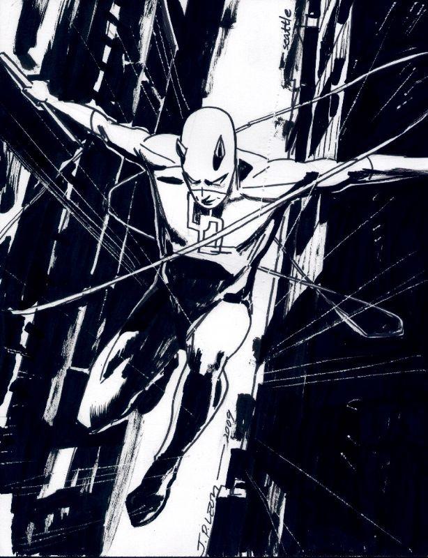 Daredevil by John Paul Leon *