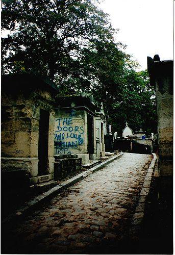 Pere Lachaise Cemetery,巴黎,1993年。