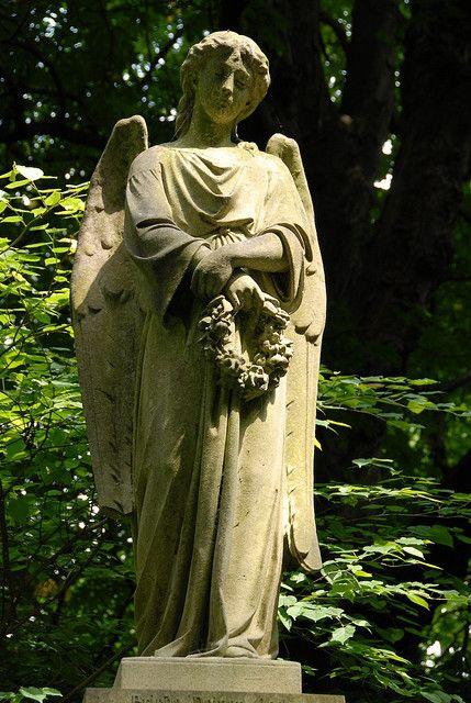 去年六月我去过伦敦时,一位好友fotopages向我展示了伦敦美丽的老海格特公墓。墓地上覆盖着树木和植物,我喜欢那里的气氛。这些照片是专门给我妈妈的回忆。
