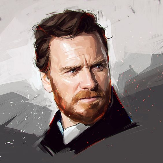 俄罗斯艺术家Viktor Miller-Gausa(之前)的新名人肖像。通过Behance更多插图
