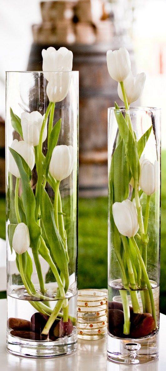 用郁金香装饰|春天装饰的想法