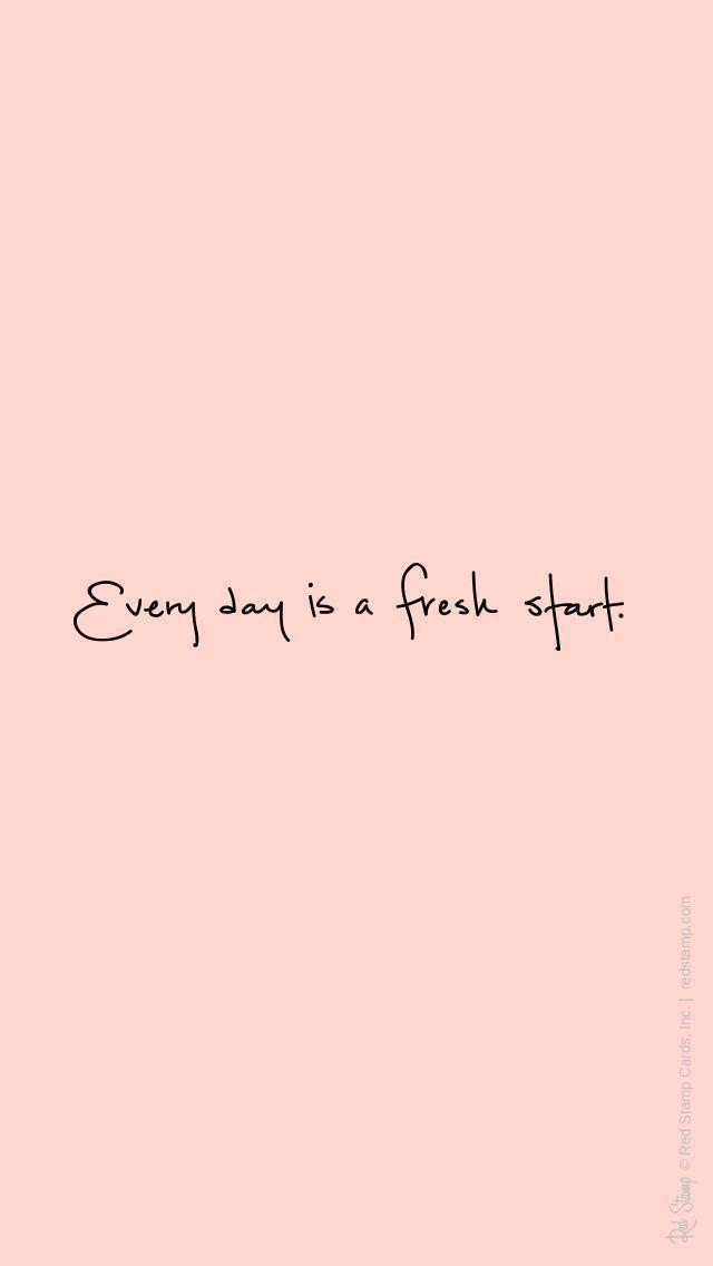 早上好,重新开始。