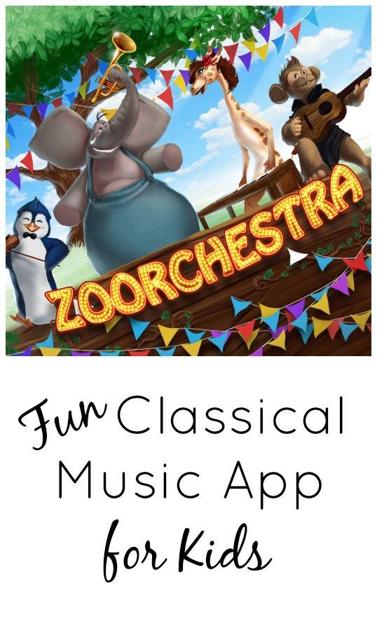 为孩子们推出这款有趣的音乐应用程序,为孩子们带来古典音乐和作曲家。